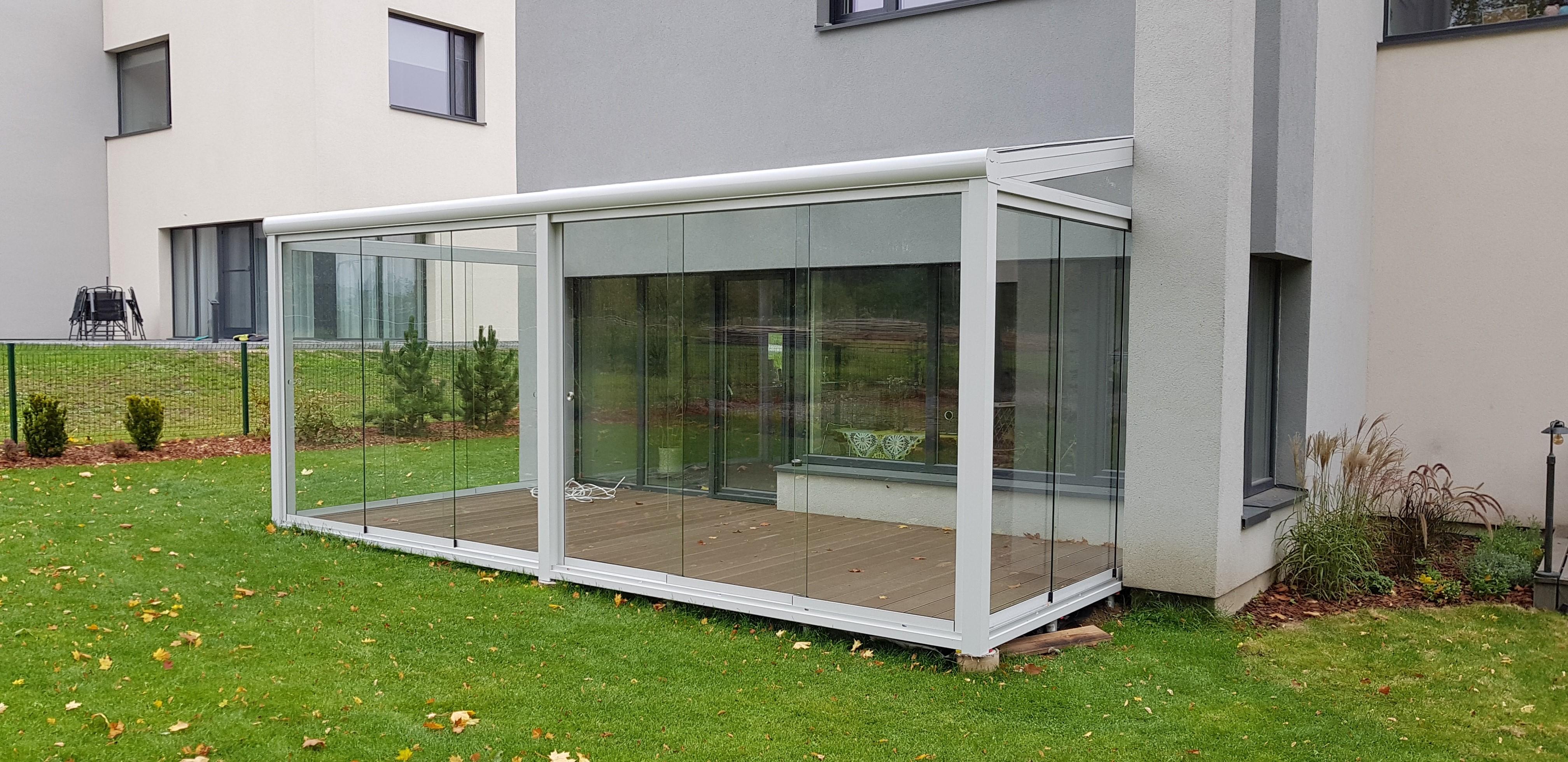 Terrassid ja verandad, talveaiad – honed klaasist